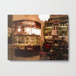 Cafe Pani 5 , Recoleta, Buenos Aires Metal Print