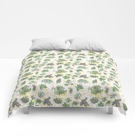 Salad Floral Comforters