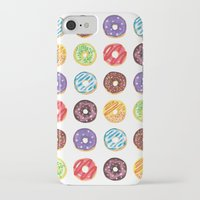 doughnut iPhone & iPod Cases featuring Doughnut delights by Phibbit