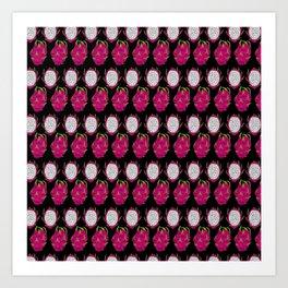 strange fruits (dragonfruit) Art Print