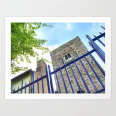 Blackfriars Church, Waterford City, Ireland. Art Print