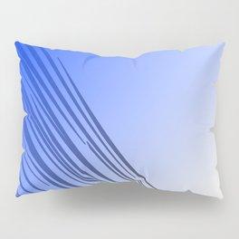jungle wild design lines ethnic jpg    BLUE Pillow Sham