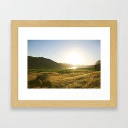 Three Rivers Framed Art Print