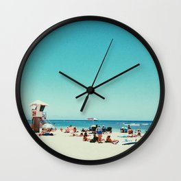 Kaimana Beach Wall Clock