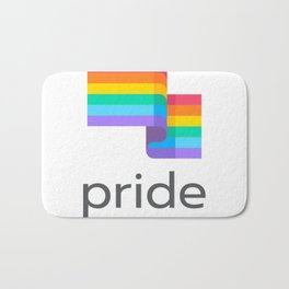 pride flag Bath Mat