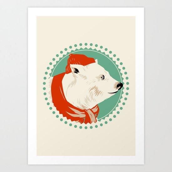 The Life Arctic Art Print