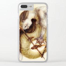 Serra Monoceras Clear iPhone Case
