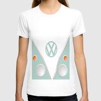 vw T-shirts featuring Simplistic VW by AshyGough
