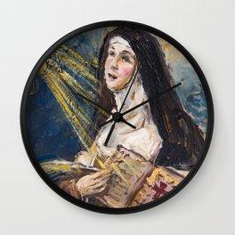 Saint Teresa of Jesus | ECSTASY II Wall Clock