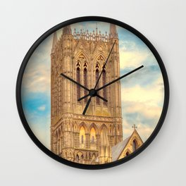 Central Tower of Lincoln Cathedral Wall Clock