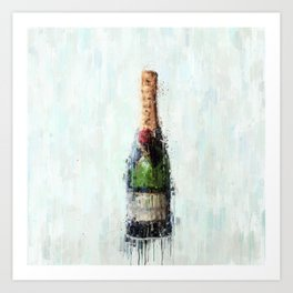 Champagne Time Art Print