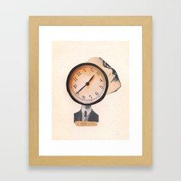 A todas Horas Framed Art Print