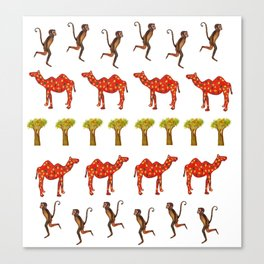 African Mood Canvas Print