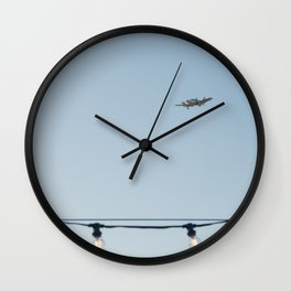 Air travel Wall Clock