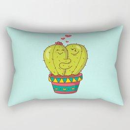 Cactus lovers Rectangular Pillow