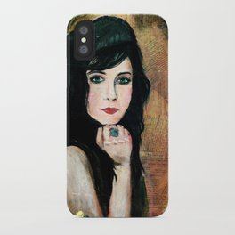 Green Lady iPhone Case