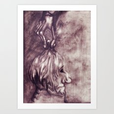 &fume Art Print