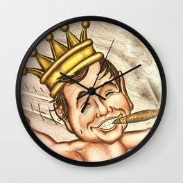 Billiken with Cigar Wall Clock