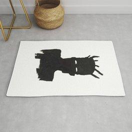 Selfportrait after Basquiat Rug