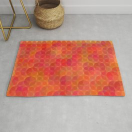 Stained Glass Sunrise Rug