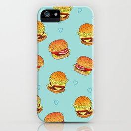 Hearty Burgers iPhone Case
