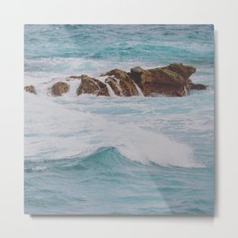 Flooded Shoal Metal Print