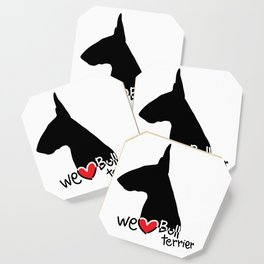 We love Bull terrier Coaster