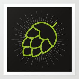 Me So Hoppy Art Print