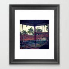 La Finca Framed Art Print