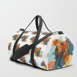 Splatter koi fish Duffle Bag