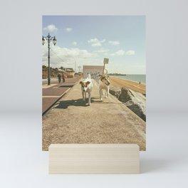 Dogwalk    Mini Art Print