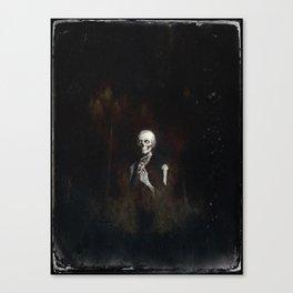 Master Gracie Dorian Grey by Topher Adam 2017 Canvas Print