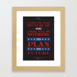 House of Cards - Chapter 39 Framed Art Print