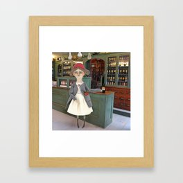 The Apothecary Framed Art Print