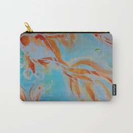 GoldFish Bubbles 1nw watercolor by CheyAnne Sexton Carry-All Pouch