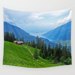 Above Interlaken Wall Tapestry