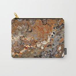 Earth Tones Lava Flow Carry-All Pouch