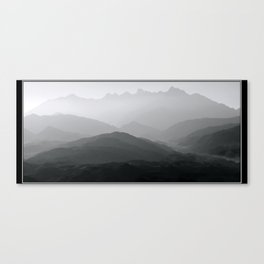 Mist Over Mastura Canvas Print
