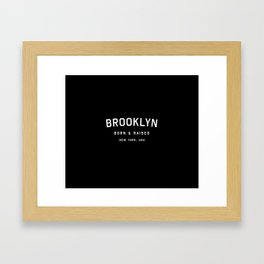 Brooklyn - NY, USA (Arc) Framed Art Print
