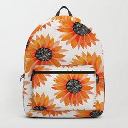 Single Sunflower – Orange Backpack