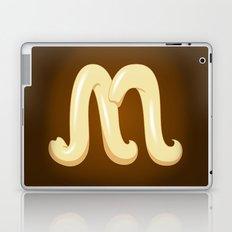 Alphabet M Laptop & iPad Skin