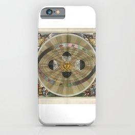Harmonia Macrocosmica - Plate 5 iPhone Case