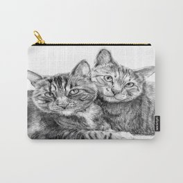 Arya and Dante portrait Carry-All Pouch
