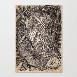 Diffracted (Cavern Dweller) Canvas Print