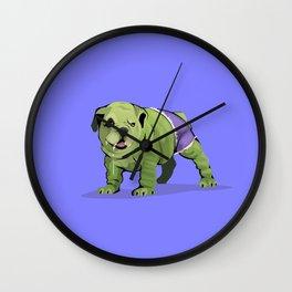 The Incredible Bulldog Wall Clock