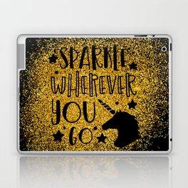 Sparkle Wherever You Laptop & iPad Skin