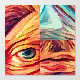 selfy 50 Canvas Print