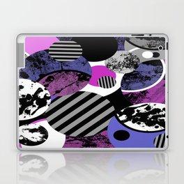an-ARC-hy! (Abstract, geometric, sphere, circle, pop art, chaotic, eclectic, random artwork) Laptop & iPad Skin