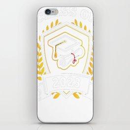 Class-of-2023---Class-of-2023-Graduation-T-Shirt---Sao-chép iPhone Skin