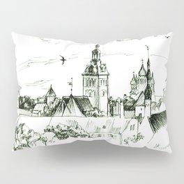 Medieval landscape. Pillow Sham